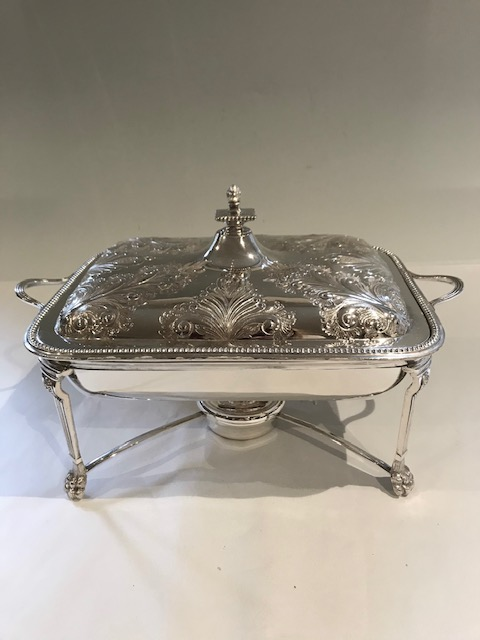Walker & Hall Silver Plated Entree Dish Stand