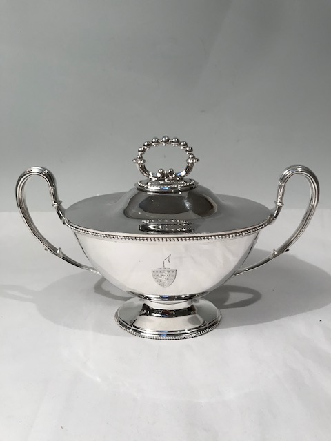Adams Style Silver Plated Sauce Tureen