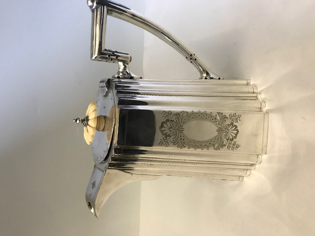 Victorian Silver Plated Walker & Hall Coffee Pot