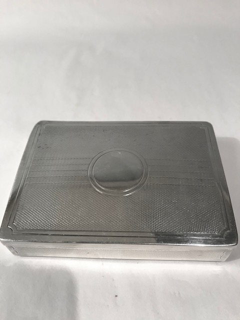 Antique Silver Plated Travelling Sandwich Box